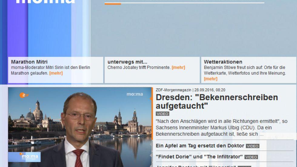 (Screenshot: ZDF)