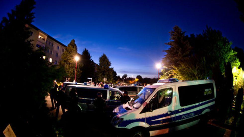 Mehrfach waren Demonstrationen in Freital eskaliert. (Foto: Archiv/dpa)