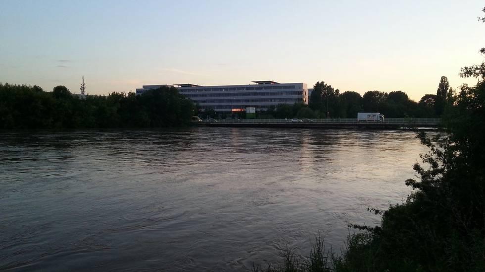 Dresden Flutrinne (Foto: Redaktion)