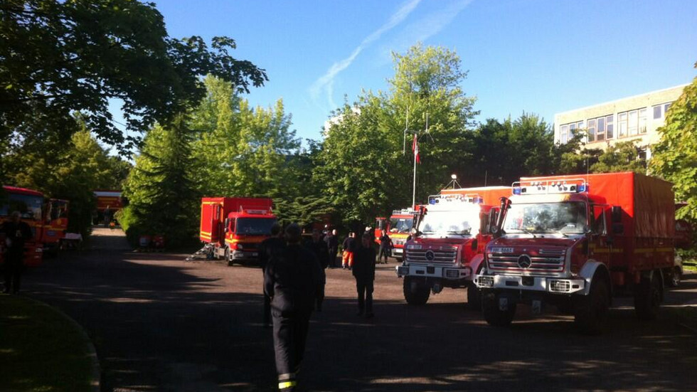 175 Hilfskräfte aus Hamburg treffen ein (Foto: Redaktion)