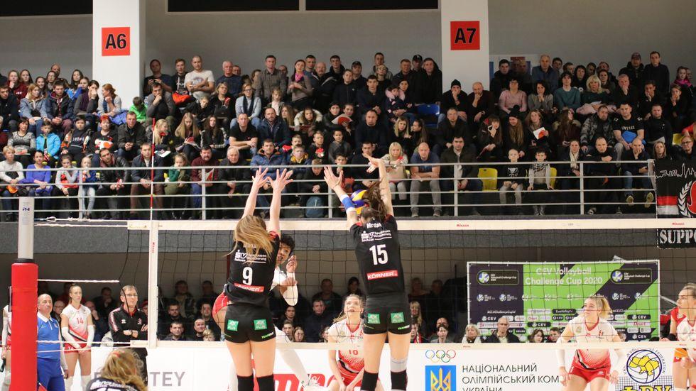 Die DSC-Volleyballerinnen stehen im Achtelfinale des Challenge-Cups, Foto: (c) Dresdner SC