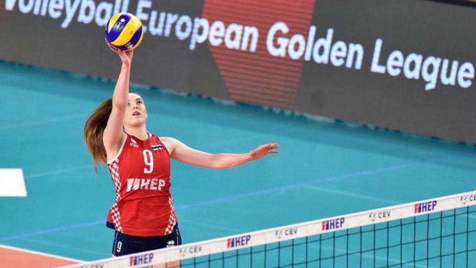 Die kroatische Nationalspielerin Lucija Mlinar verstärkt die DSC-Volleyballerinnen.