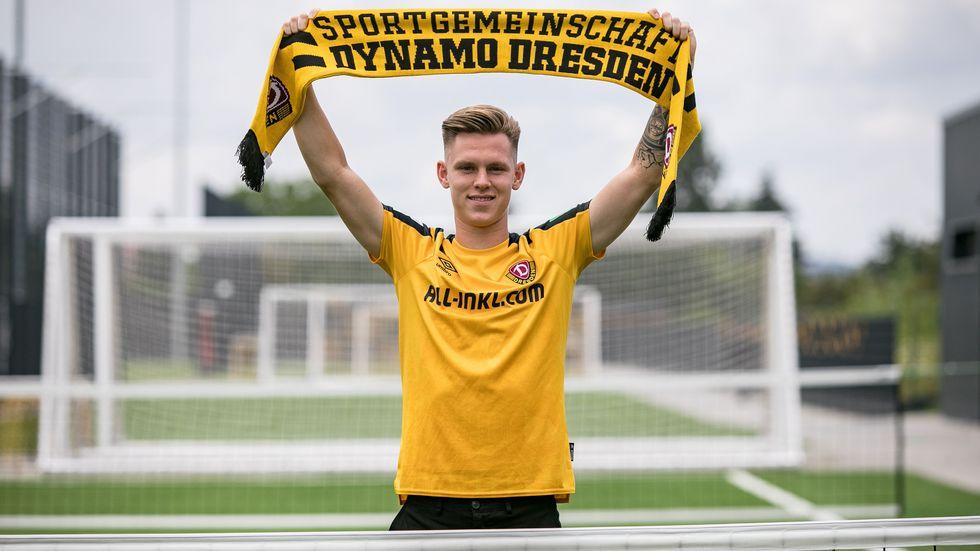 Julius Kade kehrt zu Dynamo zurück.