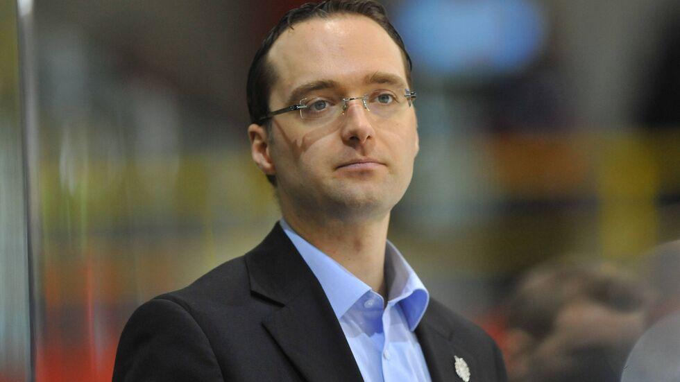 Matthias Roos ist künftig der Sportdirektor bei den Eislöwen
