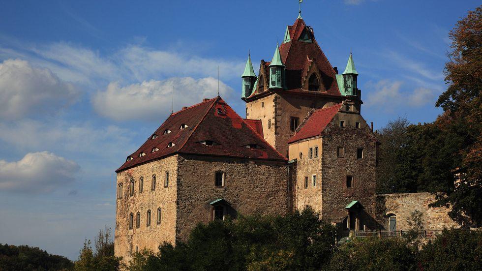 Schloss Kuckustein ist eines der ältesten Schlösser Sachsens