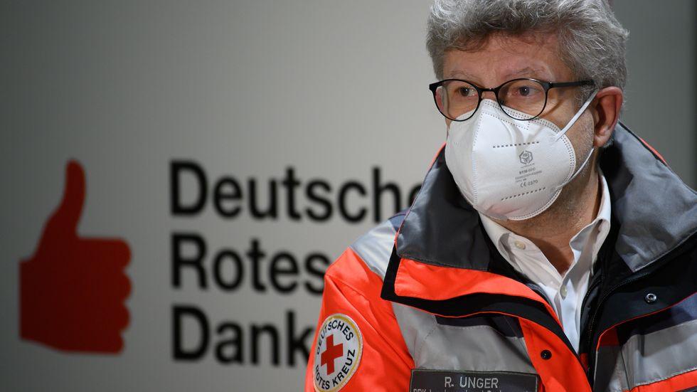 Sachsens DRK-Chef Rüdiger Unger