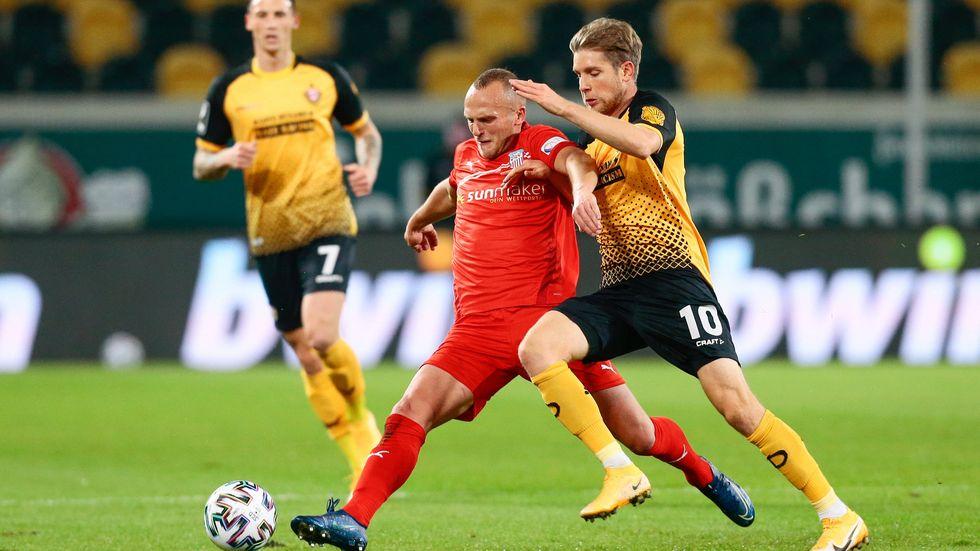 Dynamo verliert das Sachsen-Derby gegen den FSV Zwickau mit 1:2