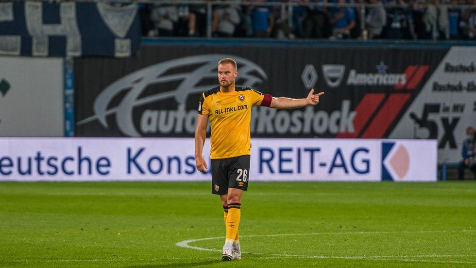 Kapitän Sebastian Mai winkt in Heidenheim ein Platz in der Startelf