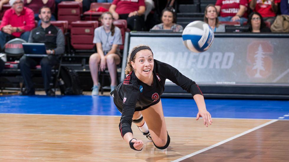Libera Morgan Hentz verstärkt die DSC-Volleyballerinnen.