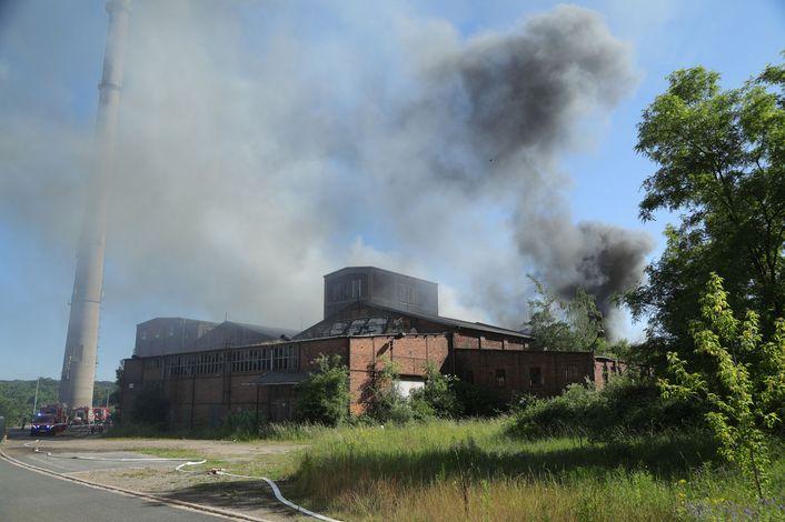 Auch in Coswig sollen sie Feuer gelegt haben. (Foto: Archiv/R. Halkasch)