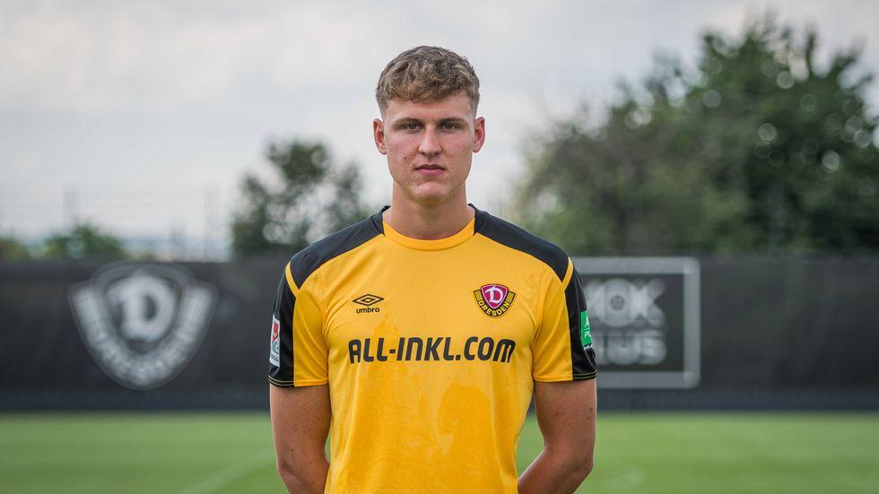 Dynamo verleiht Angreifer Phil Harres für zwei Spielzeiten an Regionalligist SSV Ulm.