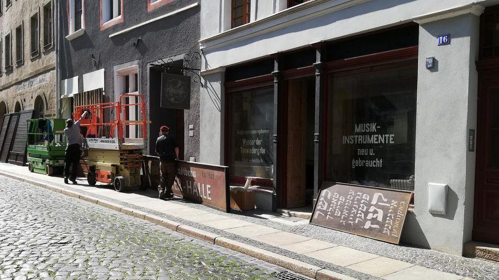 In dieser Woche wird auf der Weberstraße in der Görlitzer Altstadt gedreht.