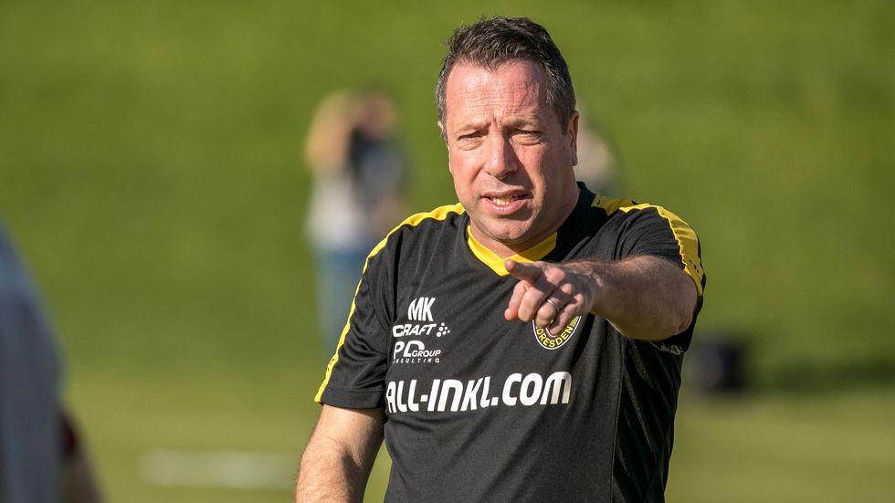 Dynamo-Coach Markus Kauczinski im Trainingslager in Spanien.