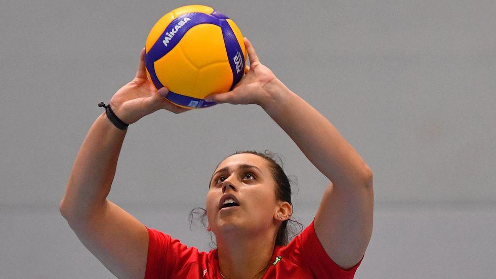 Bryanna Weiskircher wird krankheitsbedingt nicht für den DSC spielen Foto: (c) Dresdner SC