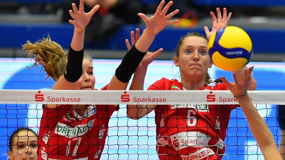 Der DSC feiert in der Volleyball Bundesliga seinen zehnten Sieg in Folge (Archivbild)