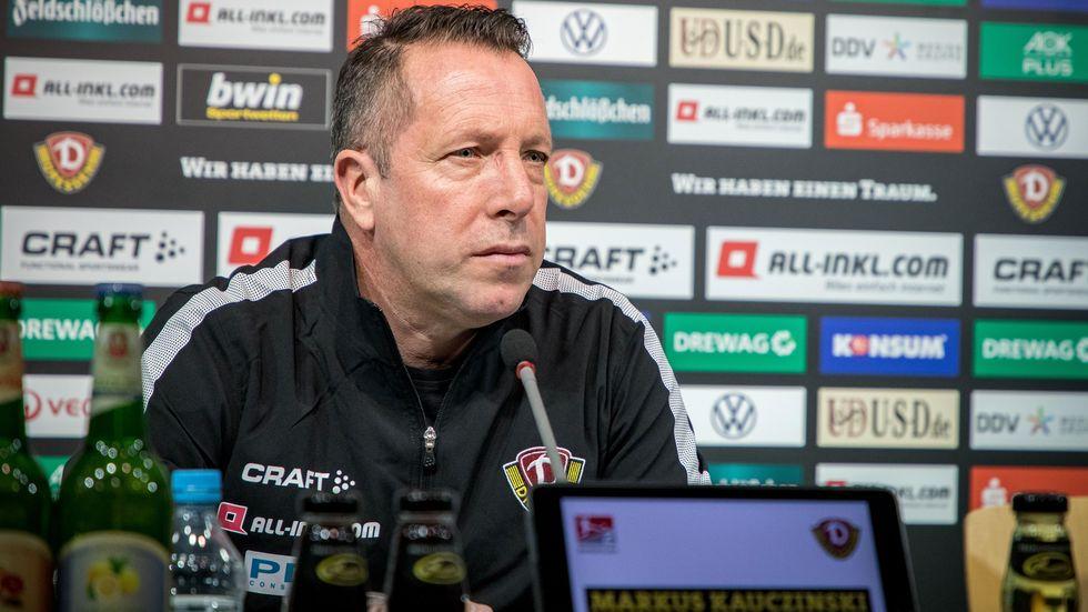 Dynamo-Coach Markus Kauczinski kehrt am Freitag an seine alte Wirkungsstätte zurück.
