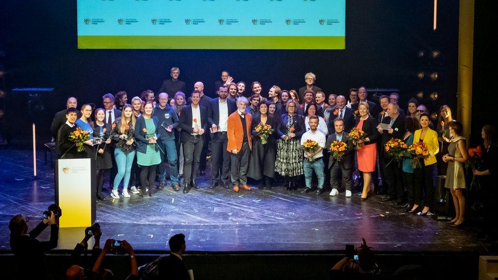 Abschlussbild der Preisverleihung 2019