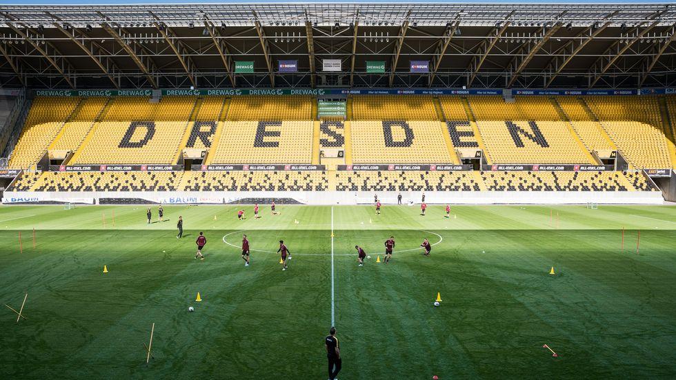 Am Samstag startet Dynamo wieder ins Training
