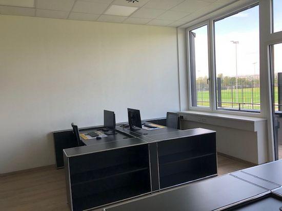 Die Büros im neuen Trainingszentrum