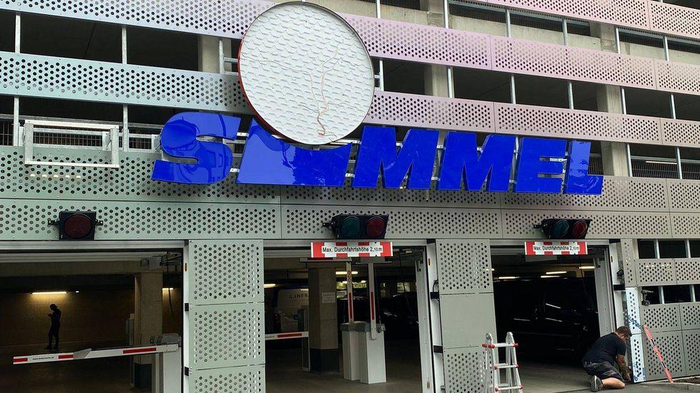Der neue Simmel-Bau beim Hauptbahnhof.