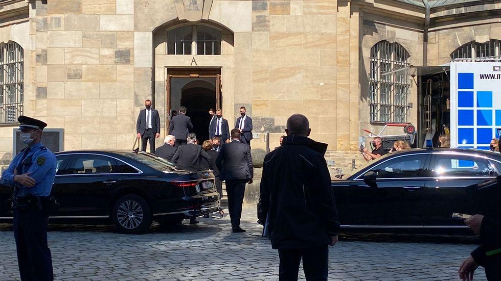 Bundespräsident Frank-Walter Steinmeier wird eine Rede halten