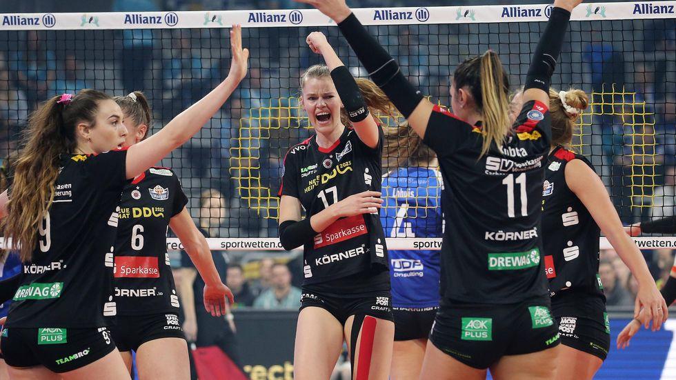 Der DSC jubelt über den Pokalsieg in Mannheim