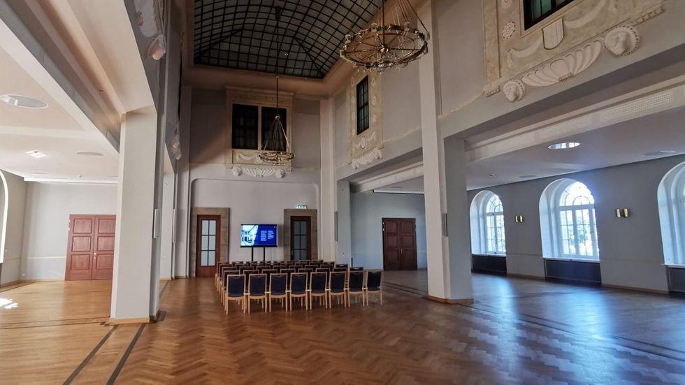 Zum Tag des offenen Denkmals öffnet unter anderem auch der Löwensaal am Dr. Külz-Ring