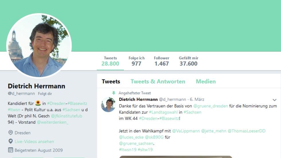 Der Account ist weiter gesperrt. (Screenshot: Twitter)