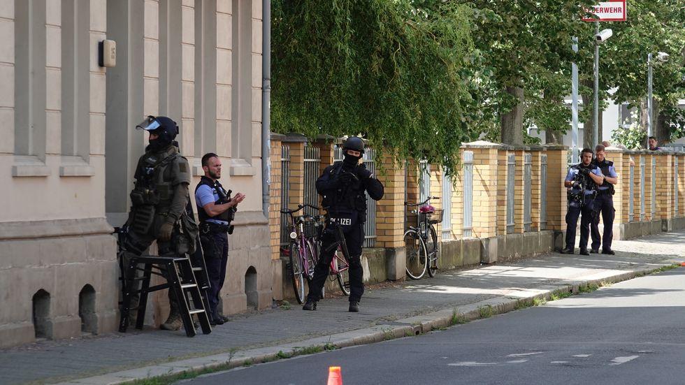 Polizeieinsatz Plagwitz