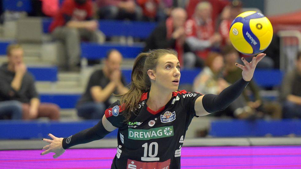 Lena Stigrot hat ihren Vertrag bei den DSC-Volleyballerinnen um eine Saison verlängert.