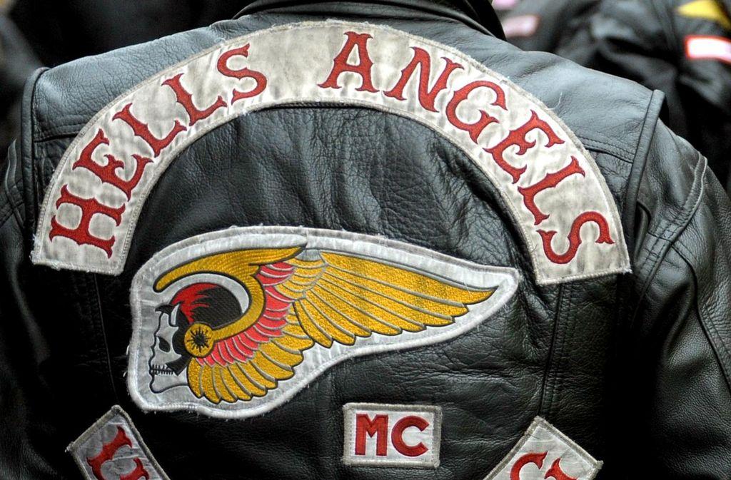 Einige Tatverdächtige sind Mitglieder der Hells Angels in Berlin. (Symbolbild: dpa)
